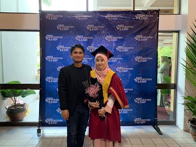 Maryam Syuhaidah Mohd Fuaad, Master in Electrical Engineering UTM, UTM Convo 10 November 2018